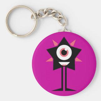 Happy Star Keychain