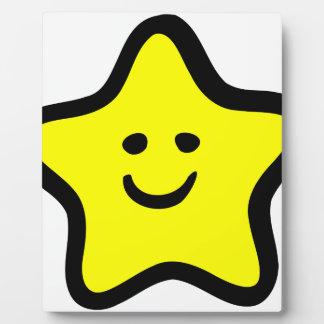 Happy Star Plaque