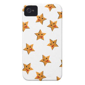 Happy stars iPhone 4 case