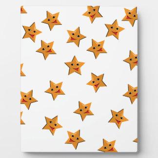 Happy stars plaque