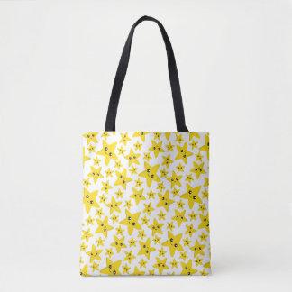 Happy Stars Tote Bag