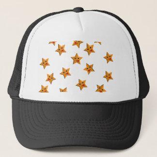 Happy stars trucker hat