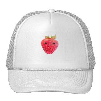 Happy Strawberry Cap