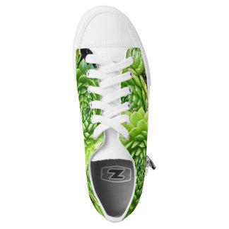 Happy Succulent Shoes Printed Shoes