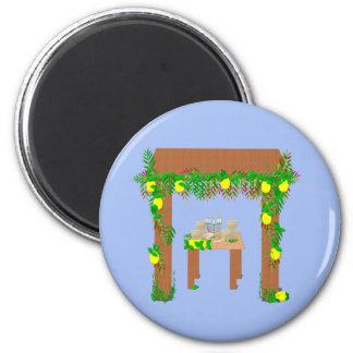 Happy Sukkot Magnet