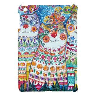 Happy summer cats iPad mini covers