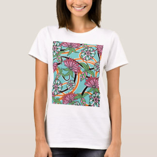 happy summer floral pattern T-Shirt