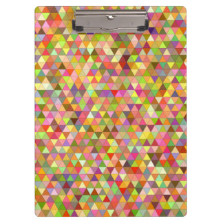 Happy summer triangles clipboard