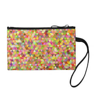 Happy summer triangles coin purse