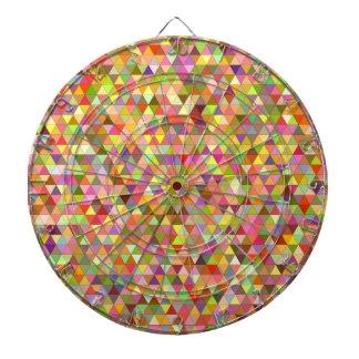 Happy summer triangles dartboard