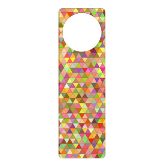 Happy summer triangles door hanger