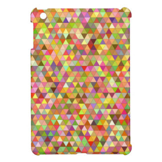 Happy summer triangles iPad mini cases