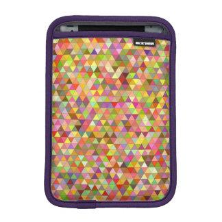 Happy summer triangles iPad mini sleeve