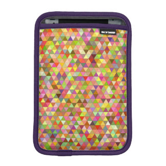 Happy summer triangles iPad mini sleeves