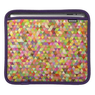 Happy summer triangles iPad sleeve