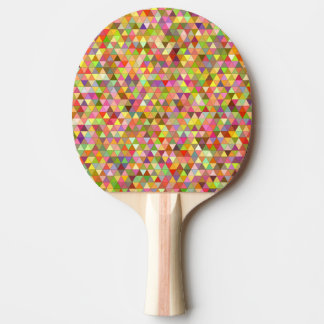 Happy summer triangles ping pong paddle