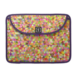 Happy summer triangles sleeve for MacBook pro
