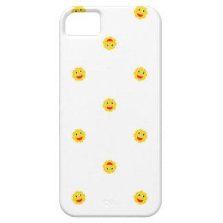 Happy Sun Motif Kids Pattern iPhone 5 Case