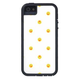 Happy Sun Motif Kids Pattern iPhone 5 Cover