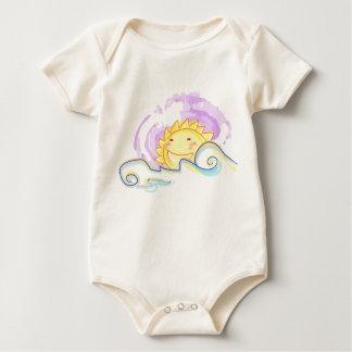 happy sun rise baby bodysuit
