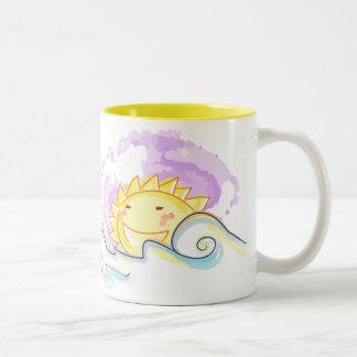 Happy sun rise coffee mugs