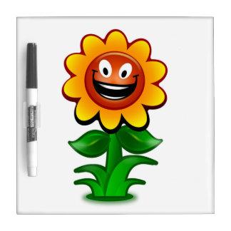 HAPPY SUNFLOWER DRY ERASE BOARD