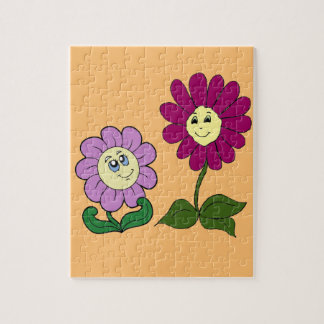 Happy Sunflowers Jigsaw Puzzle