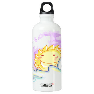 Happy sunrise smiles with clouds bottle SIGG traveller 0.6L water bottle