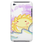 Happy sunrise smiling iPod Touch Case-Mate