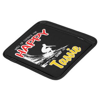 Happy Surfer TASSIE (Wht) iPad Sleeve