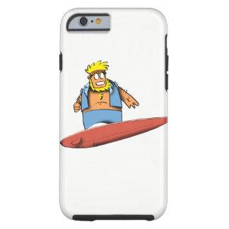 Happy Surfer Tough iPhone 6 Case