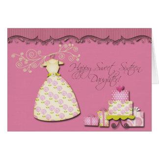 Happy Sweet Sixteen Daughter Card