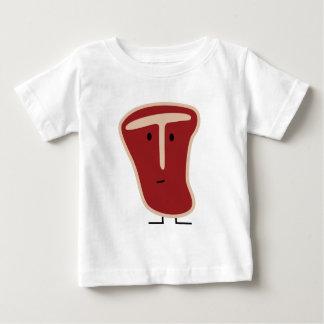 Happy T-bone steak Baby T-Shirt