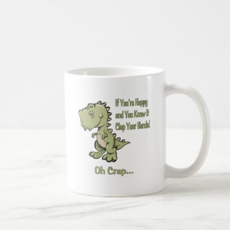 Happy T-Rex Coffee Mug
