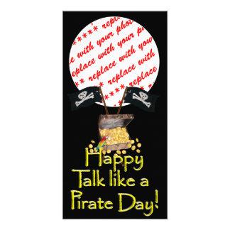 "Happy ""Talk like a Pirate"" Day Photo Card"