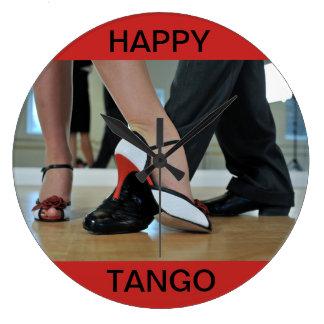HAPPY TANGO Wall Clock