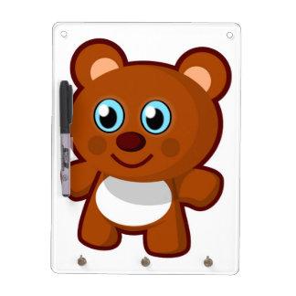 HAPPY TEDDY BEAR DRY ERASE BOARDS