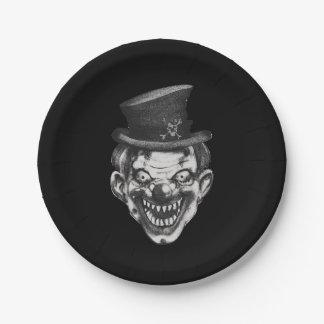 Happy Teeth Clown Paper Plate
