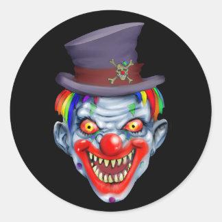 Happy Teeth Clown Sticker