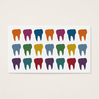 Happy Teeth Dentist Business Cards