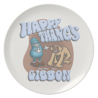 Happy Thang's Gibbon Plate