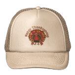 HAPPY THANKGIVING TURKEY by SHARON SHARPE Trucker Hats