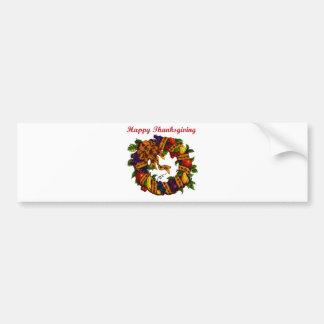 Happy Thanksgiving 1 Bumper Sticker