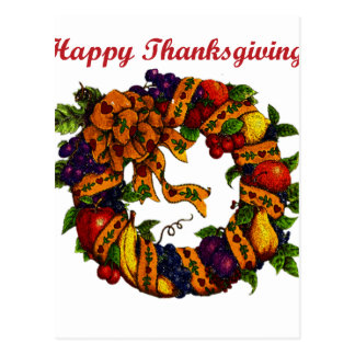 Happy Thanksgiving 1 Postcard