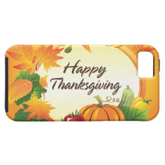 Happy Thanksgiving 5 Case-Mate Case Tough iPhone 5 Case
