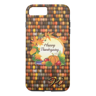 Happy Thanksgiving 5A-13A Options iPhone 8 Plus/7 Plus Case