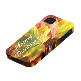 Happy Thanksgiving 7 Case iPhone 4 Cover