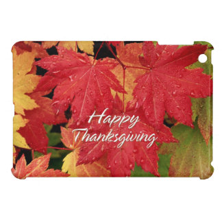 Happy Thanksgiving 8 Case For The iPad Mini