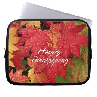 Happy Thanksgiving 8 Laptop Sleeve