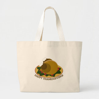 Happy Thanksgiving Canvas Bags